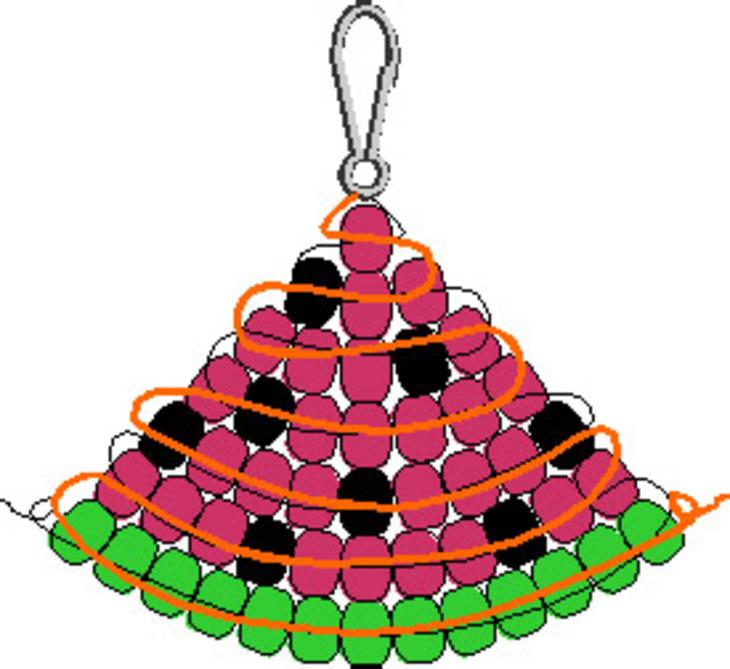 Брелки из бисера со знаками зодиака со схемой плетения в. жилетку крючком схема.
