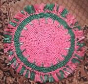Игрушка Вязание крючком: Морской конек из полиэтиленовых пакетов.