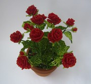 ажурные розы из бисера схемы - Лучшие схемы и описания для всех.