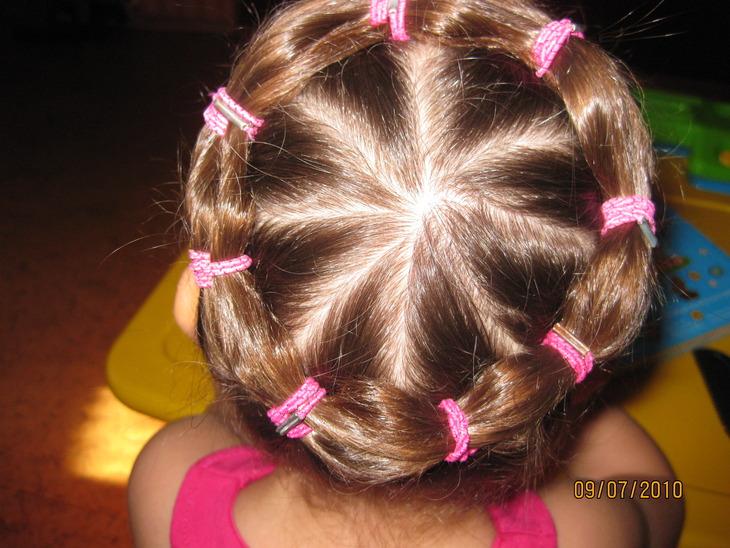 Причёски с резиночками для девочек в домашних условиях