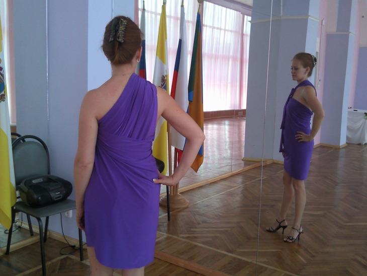 Платья трансформеры. Три мастер-класса