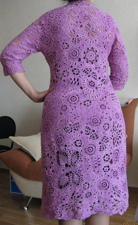 Платье цвета фуксии 85783