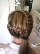 плетение косичек пошаговое фото коса.
