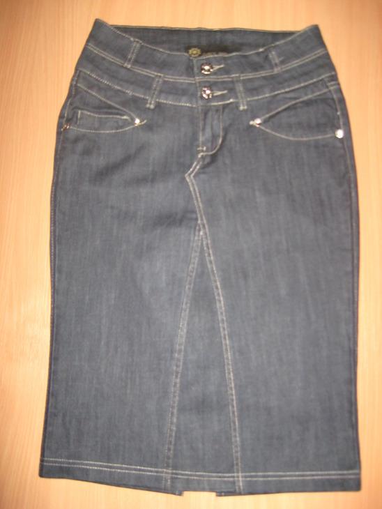 Из старых джинс юбку своими руками