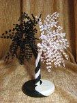 бисероплетение дерево инь янь схема - Вышивка бисером.